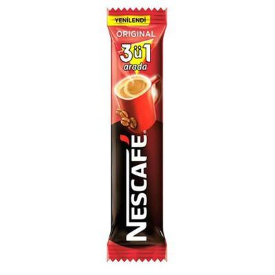 Nescafe Hazır  3'ü 1 Arada 72 Adet Kahve