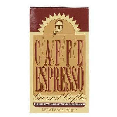 Mehmet Efendi Kurukahveci Caffe Espresso  250 G Kahve