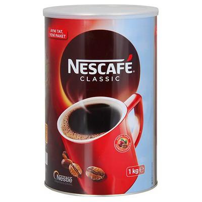 Nescafe Classic  Teneke 1 kg Alana Coffee Mate Hediye Kahve