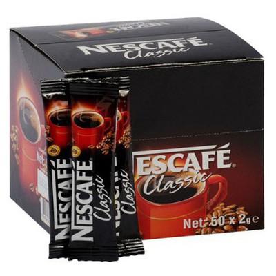 Nescafe Classic  2 Gr 50 Adet Kahve