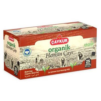 Çaykur Organik Hemşin  25 Adet Poşet Çay