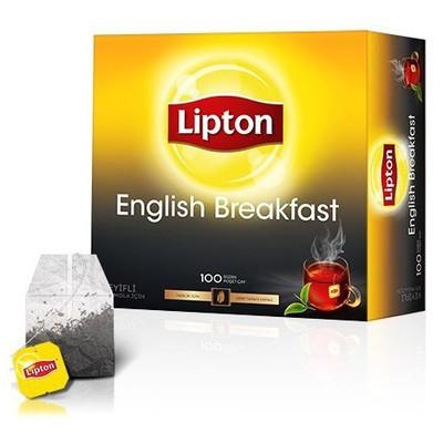 Lipton English Breakfast Bardak  2 G 100 Adet Poşet Çay
