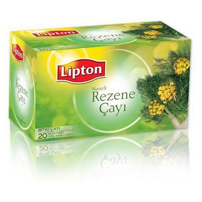 Lipton Naneli Rezene Çayı 20'li Bitki Çayı