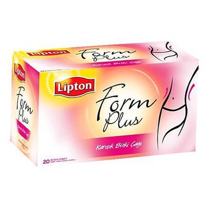 Lipton Form Plus Bardak Poşet Çay 20 Adet Bitki Çayı