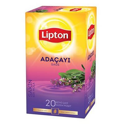 Lipton Bardak Poşet Ada Çayı 20 Adet Bitki Çayı