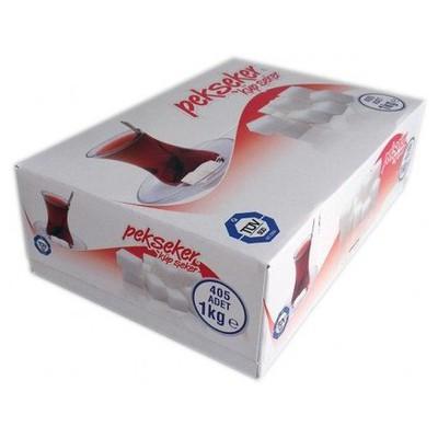 Pekseker Küp  1 Kg 405 Adet Şeker