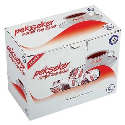 Pekseker Purlize Küp  Sargılı 750 G Şeker