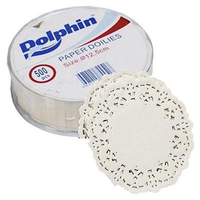 Renk Dolphin Kağıt Bardak Altlığı Dantel Yuvarlak 12.5 Cm 500 Adet Kullan At Malzemeler