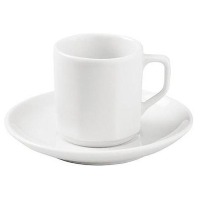 Porland Beyaz Lebon Kahve Fincan Takımı 12'li Model 211819 Çay Seti