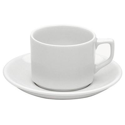 Porland Beyaz Lebon Nescafe & Çay Fincan Takımı 12'li Model 220816 Çay Seti