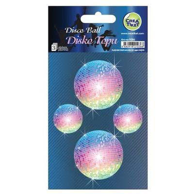 Crea Tiket Creatiket 1036 Disko Topu Sticker Okul Etiketleri