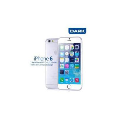 Dark Dk-ac-cpı6kl2 Iphone 6 Kristal Ince Şeffaf Kılıf 0.5mm Cep Telefonu Kılıfı