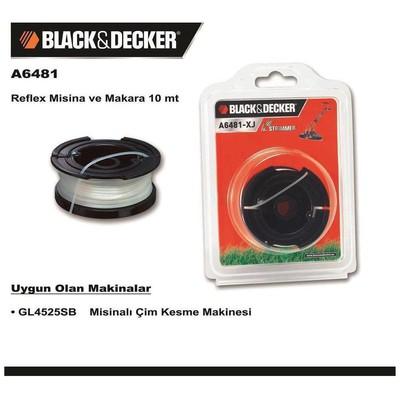 Black & Decker A6481 Gl4525sb Için Yedek Misina Bahçe Makina Aksesuar