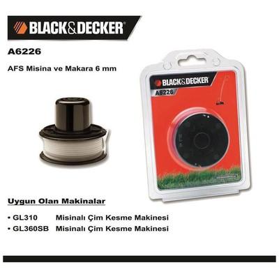 Black & Decker A6226 Gl310 Ve Gl360sb Yedek Misina Bahçe Makina Aksesuar