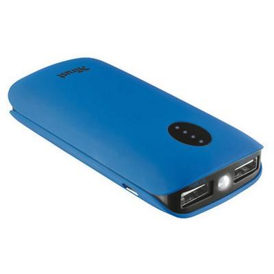 Trust 20382 Leon 5200 Mah Powerbank-Mavi Taşınabilir Şarj Cihazı