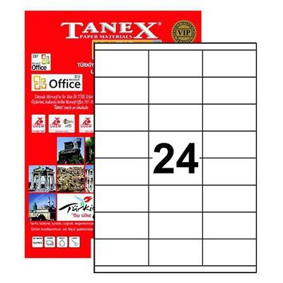 Tanex Yazıcı i 70x35 mm 2400 Adet Model TW-2324 Etiket