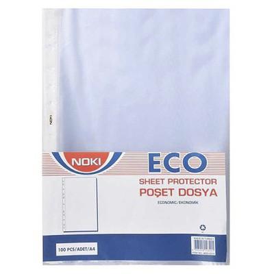 Noki Poşet  A4 100'lü Paket Eco Dosya