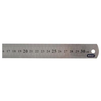 MAS 2330 30cm Çelik Cetvel