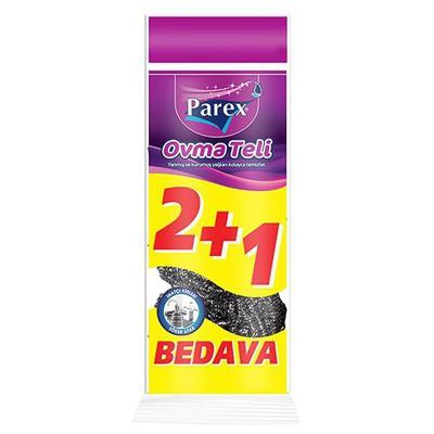 Parex Bulaşık Teli 3 Al 2 Öde Bez / Sünger