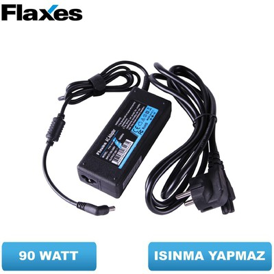 Flaxes FNA-SO195 Sony 19.5V 4.74A 90W UÇLAR:6.5*4.4 Muadil Notebook Adaptör Laptop Şarj Aleti