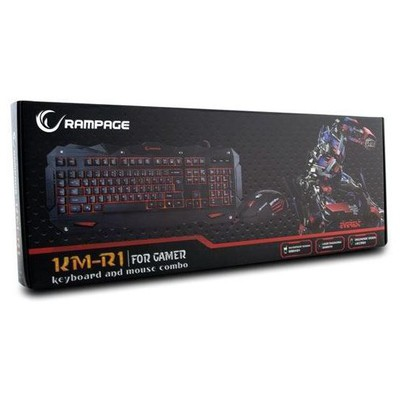 Everest Rampage KM-R1 Gaming Q Klavye ve Mouse Seti