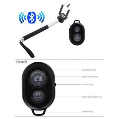 Microsonic Bluetooth Kumandalı Selfie Çubuğu Özçekim Çubuğu Cep Telefonu Aksesuarı