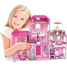 Mega Bloks Barbie'nin Lüks Malikanesi Oyun Seti Lego Oyuncakları