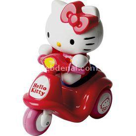 Necotoys Hello Kitty Mini Scooter Kırmızı Arabalar