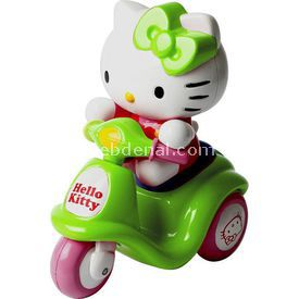 Necotoys Hello Kitty Mini Scooter Yeşil Arabalar
