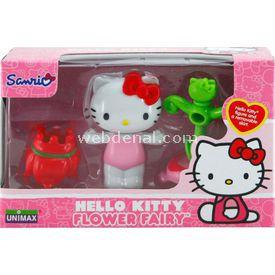 Necotoys Hello Kitty Çiçek Perisi Figür 6 Cm Model 2 Kız Çocuk Oyuncakları