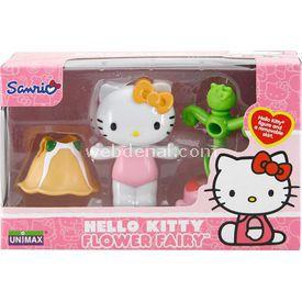 Necotoys Hello Kitty Çiçek Perisi Figür 6 Cm Model 3 Kız Çocuk Oyuncakları