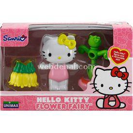 Necotoys Hello Kitty Çiçek Perisi Figür 6 Cm Model 6 Figür Oyuncaklar
