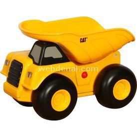CAT Sesli Ve Işıklı Dump Truck Iş Makinası Erkek Çocuk Oyuncakları