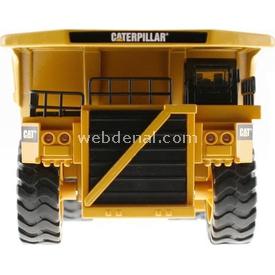 CAT Metal Koleksiyon Araçları Dump Truck Iş Makinası Erkek Çocuk Oyuncakları