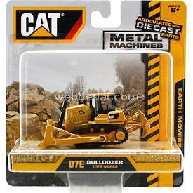 CAT Metal Koleksiyon Araçları Mini Bulldozer Iş Makinası Erkek Çocuk Oyuncakları