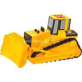 CAT Hareketli Sesli Ve Işıklı Bulldozer Iş Makinası Erkek Çocuk Oyuncakları