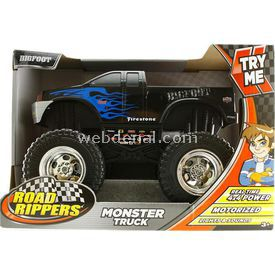 Road Rippers Monster Truck Bigfoot Sesli Ve Işıklı 4x4 Kamyonet Arabalar
