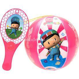 Necotoys Pepee Tapball Pembe Bahçe Oyuncakları