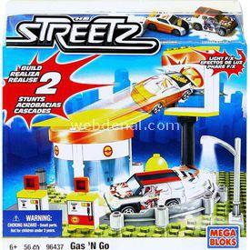 Mega Bloks Streetz Gas'n Go Mini Oyun Seti Lego Oyuncakları