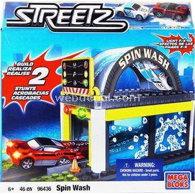 Mega Bloks Streetz Spin Wash Mini Oyun Seti Lego Oyuncakları
