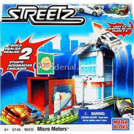 Mega Bloks Streetz Micro Motors Oyun Seti Lego Oyuncakları