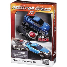 Mega Bloks Need For Speed Nissan Gt-r Starter Pack Lego Oyuncakları