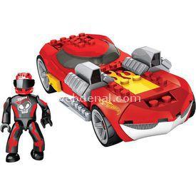 Mega Bloks Hot Wheels Mini Koleksiyon Araçlar Kırmızı Lego Oyuncakları