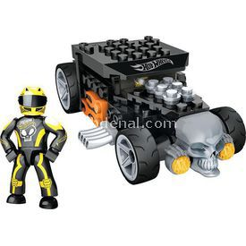 Mega Bloks Hot Wheels Mini Koleksiyon Araçlar Siyah Lego Oyuncakları