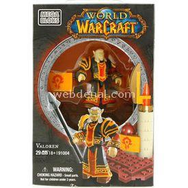 Mega Bloks World Of Warcraft Valoren Figür Lego Oyuncakları