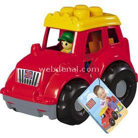 Mega Bloks Araçlar Ve Renkli Bloklar Traktör Lego Oyuncakları
