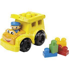 Mega Bloks Sonny Okul Servisi Ve Renkli Bloklar Lego Oyuncakları