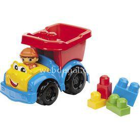 Mega Bloks Dylan Damperli Kamyon Ve Renkli Bloklar Lego Oyuncakları