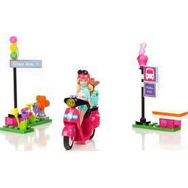 Mega Bloks Barbie Scooter Oyun Seti Lego Oyuncakları