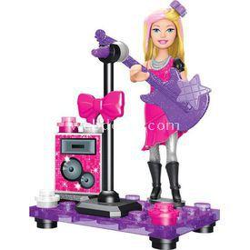 Mega Bloks Barbie Pop Star Oyun Seti Lego Oyuncakları